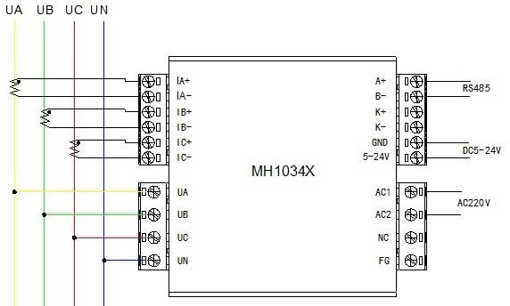 输入: 模块工作电源输入:AC 150 - 260V 功耗≤0.3W或DC5-24V 功耗≤0.1W 额定测量电压输入:相电压220V、线电压380V直接输入 额定测量电流输入:三相40-1000A互感器接入 输入频率:45-70Hz 开关量输入:1路,无源空触点输入 信号处理: 数据更新时间:0.5秒-8秒 可编程 电压测量:2% - 120% 额定电压 5% - 120% 额定电压范围内,精度0.