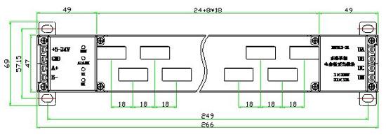 光伏汇流箱智能监测装置